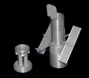 Simplify3D - 3D printed Hubble telescope