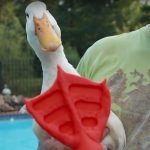 Simplify3D - Buttercup the duck with 3D printed duck foot