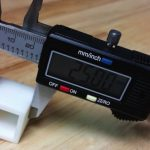 Simplify3D - calipers measuring 3D printed part