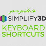 Simplify3D - keyboard shortcuts