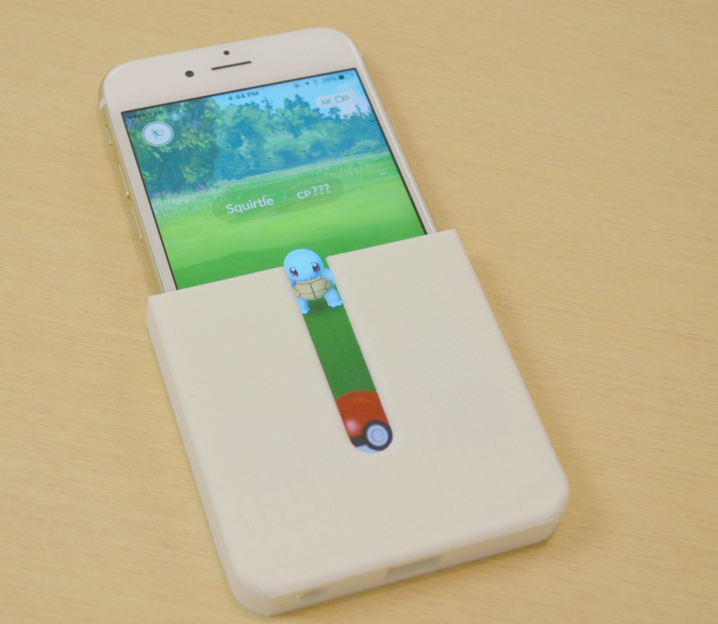 Simplify3D - 3D printed Pokemon Go tool