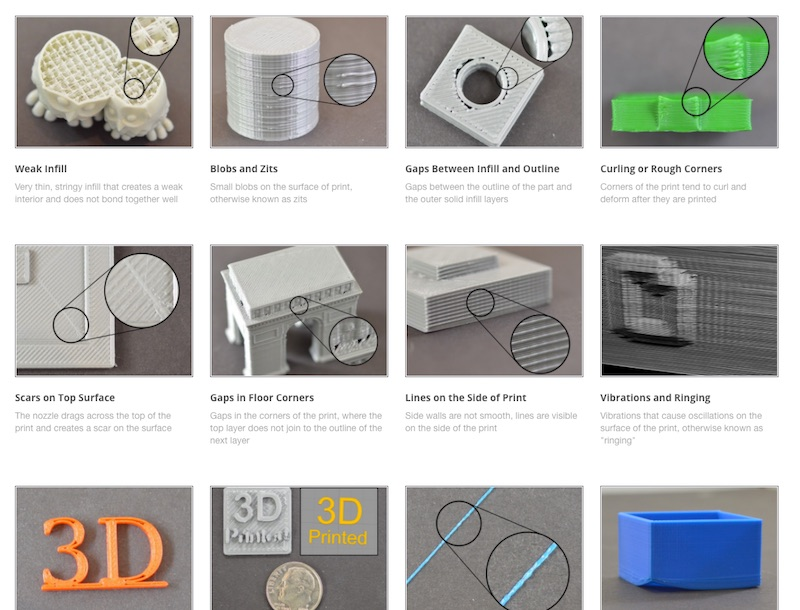 Simplify3D - print quality guide