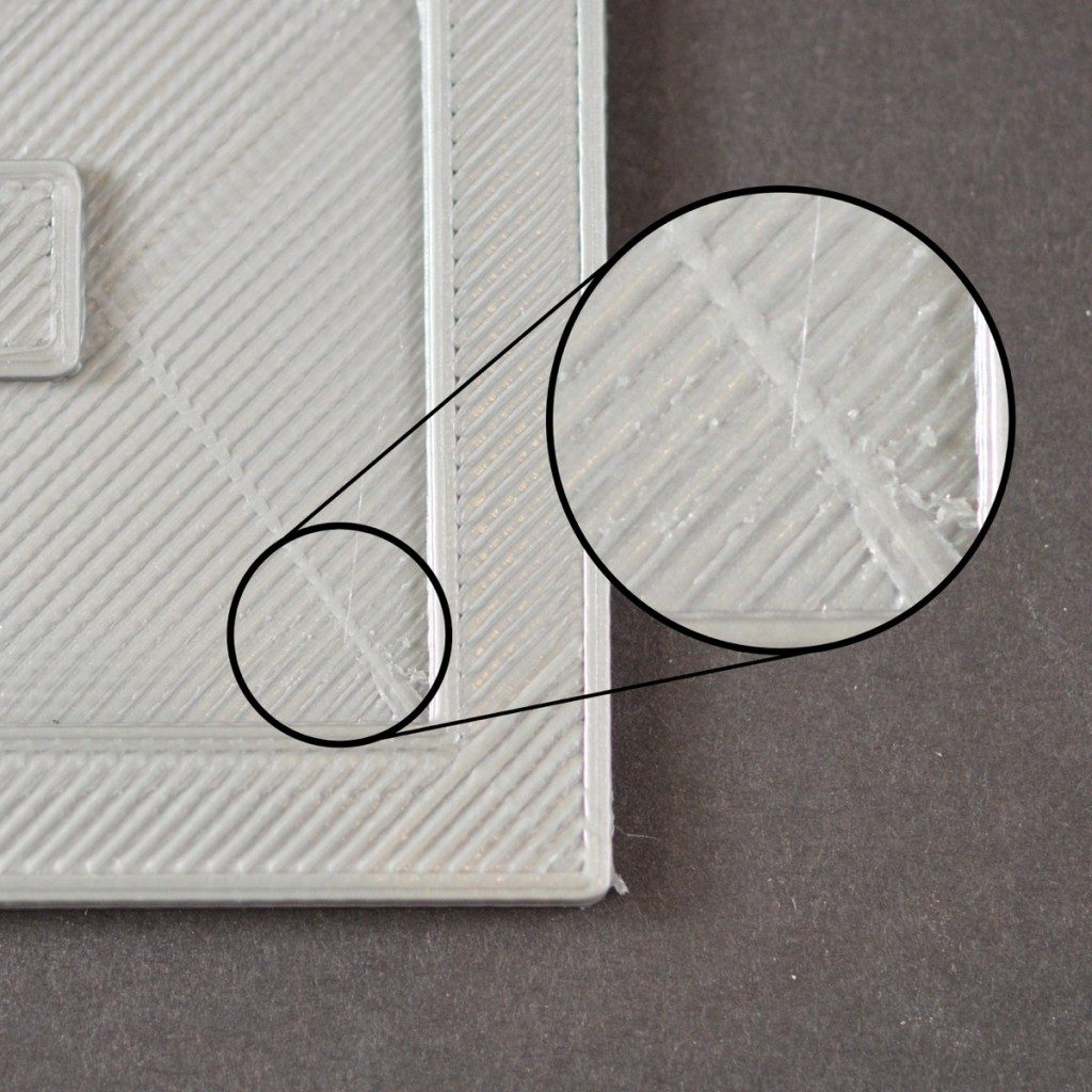 Simplify3D - scars on top surface
